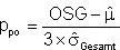 Formel für Ppo