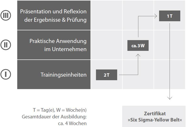 Six Sigma-Yellow Belt®-Ausbildung